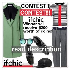"""""""Follow, Share, Create, Win! Winner will receive $200 worth of coins!"""" by paculi ❤ liked on Polyvore featuring Être Cécile, Atea Oceanie, Dear Frances, Cast of Vices, Alexander Wang, coolcoat and ifchic"""