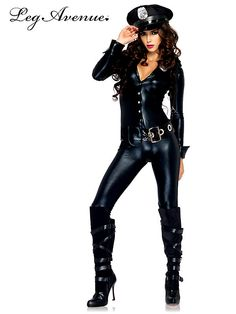 Sexy Officer Payne Costume - Womens #Police #halloween