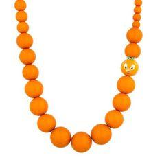 Disney Parks Orange Bird Retro Style Charm Necklace New With Tags Orange Necklace, Bird Necklace, Beaded Necklace, Disney Parks Merchandise, Florida Oranges, Bird Party, Orange Bird, Walt Disney World, As You Like