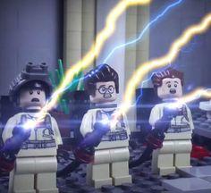 LEGO Ghostbusters Movie – Court métrage en stop motion