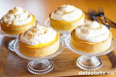 Tarte au citron meringuée (Fransk sitronterte med marengs) | Det søte liv