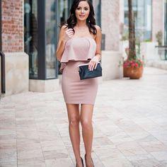737e00b58f0 Soft Kiss Wrap Dress in Pale Pink - Dainty Hooligan Boutique