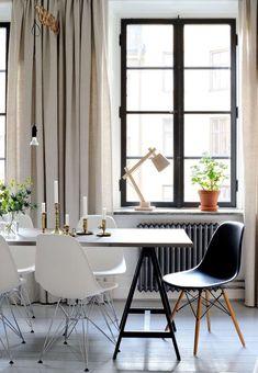 Gravity Home, Source: Sköna Hem Furniture, Gravity Home, Interior, Home, Eames Chair, Eames Dining Chair, Dining Chairs, Interior Design, Interior Inspo