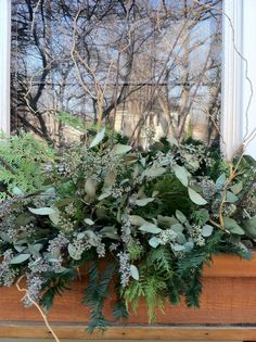 Window box for the winter