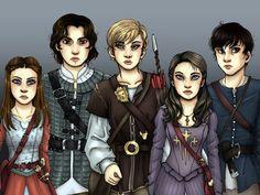 ♔ As Crônicas de Nárnia saga.♕: Desenhos de Nárnia - Narnia drawings.