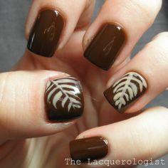 The Lacquerologist: Latte Art Nail Art!