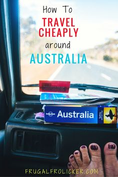 How to Travel Cheaply in Australia. #travel #australia #budgettravel / / / / / Check out more travel photos and blog posts on my travel blog, frugalfrolicker.com