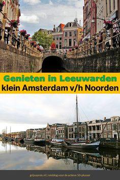 Met deze wandelingen zie je alle hoogtepunten van Leeuwarden. De Friese hoofdstad is niet voor niets uitgeroepen tot culturele hoofdstad van Europa. Dutch, Building, Travel, Viajes, Dutch Language, Buildings, Destinations, Traveling, Trips