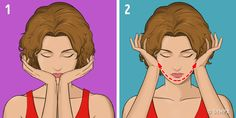 A Japanese Facial Massage That Can Rid You of Swelling and Wrinkles in 5 Minutes a Day (Famous Supermodels Swear by It) – All Viral Pins Daily Face Care Routine, Daily Beauty Routine, Yoga Facial, Natalia Vodianova, Massage Facial Japonais, Image Skincare, Famous Supermodels, Face Yoga Exercises, Japanese Massage