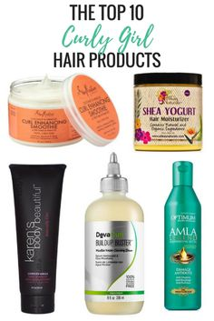 Top 10 Curly Girl Hair Care Products http://thepatranilaproject.com/top-10-curly-hair-care-products/