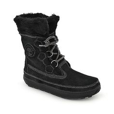 Timberland Mukluk platform mid calf fur boot and other boots with the fur are at Shiekhshoes.com with free shipping anywhere in the continental U.S. on orders $75 or more.