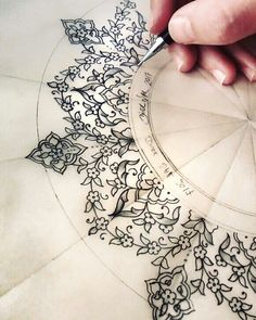 Tezhip desen tasarım