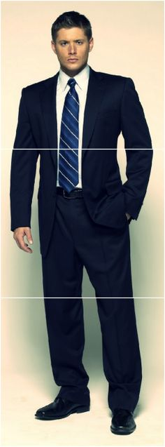 Man can wear the hell out of a suit! #JensenAckles Season4 Promo