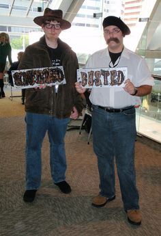 Mythbusters costumes