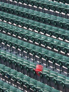 The Lucky Chair, Fenway Park   Flickr - Photo Sharing!