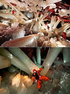Crystal cave, Mexico