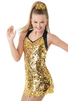 Weissman™ | Ultra Sparkle Sequin Halter Dress