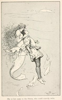 Fairy tales from Hans Andersen, 1906 Illustrations by Gordon Browne The Sea…