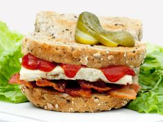 Bob Harper's B.E.S.T Breakfast Sandwich Recipe -- This hearty-but-light breakfast idea from the famous 'Biggest Loser' trainer will keep you full and fueled until lunchtime.