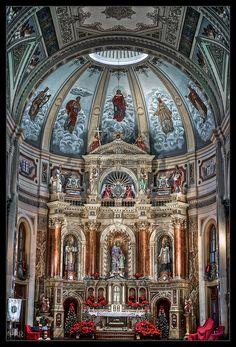 Saint Joseph Shrine, in Saint Louis, Missouri, USA - Cathedral Architecture, Sacred Architecture, Religious Architecture, Beautiful Architecture, Beautiful Buildings, Catholic Art, Roman Catholic, Old Churches, Catholic Churches