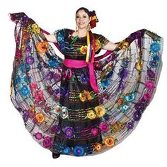 Chiapas Folklorico Dress
