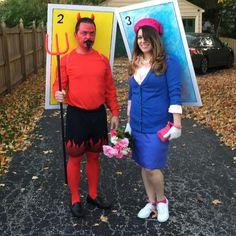 Loteria costumes! El Diablito and La Dama