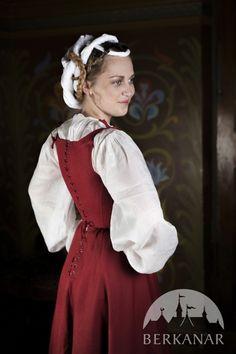 Средневековое платье. Германия XVI век.