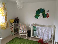 A Very Hungry Caterpillar Nursery Ideas