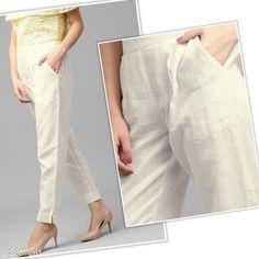 Trousers & Pants Trendy Pure Cotton Flex Women's Solid Pencil Pant Fabric: Pure Cotton Flex Waist Size: S- 28 in M - 30 in L - 32 in XL - 34 in XXL - 36 in Length: Up To 37 in Type: Stitched Description: It Has 1 Piece Of Women's Pencil Pant Pattern: Solid Country of Origin: India Sizes Available: S, M, L, XL, XXL   Catalog Rating: ★4 (505)  Catalog Name: Diva Trendy Pure Cotton Flex Women's Solid Pencil Pants Vol 9 CatalogID_381110 C79-SC1034 Code: 183-2807261-939