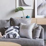 Art Club Concept Sunday Decorative Cushion   Simple Style Co