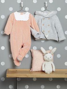00a627b176650 Bébé-Bébé fille-Les Looks Automne-Hiver-SOFTNESS Pyjama Naissance Fille