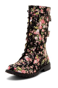 floral boot by Groove <3