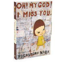 Yoshitomo Nara Postcard Set. I love Nara's artwork. He's so influential.