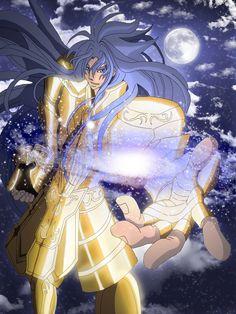 Saint Seiya - Gold Saint Gemini Deuteros by Erushido