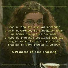 Livro - A Princesa de rosa shocking