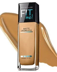 The Best Foundations for Oily Skin - Maybelline Fit Me Matte + Poreless Foundation  - from InStyle.com