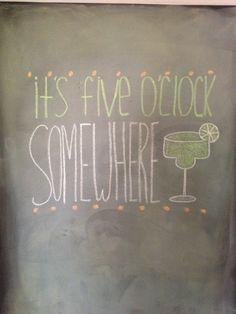 Summer chalkboard wall.