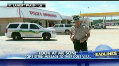 'Look at Me Son, I'm Talking to You': Watch this Cop's Epic Warning to Thief