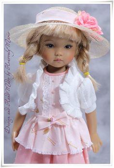 "[Effner] Tiered Skirt OnePiece Set | 13"" Little Darling Outfit by Heavenly Marie #HeavenlyMarie"
