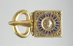 Buckle with Embossed Head in Profile, 400-600                                                Byzantium, early Byzantine period, 5th-6th Century