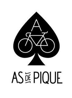 As de Pique #logo #bici