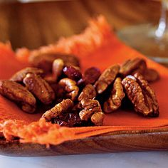 Top-Rated Party Appetizers | Orange Chipotle-Spiced Pecan Mix | CookingLight.com