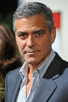 George Clooney, Actor | 21 Disgustingly Hot Silver Foxes That'll Make You Fall In Love With Gray Hair