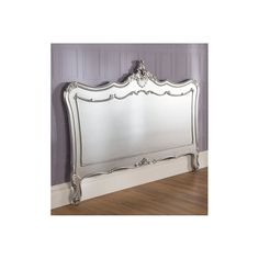 La Rochelle Antique French Silver Headboard compliments our shabby furniture fantastically