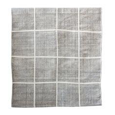 Square matta, grå – Tell Me More – Köp online på Rum21.se