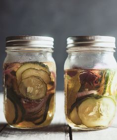 Quick Sweet Pickles
