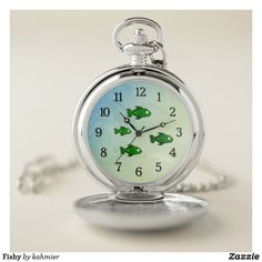 Fishy Pocket Watch