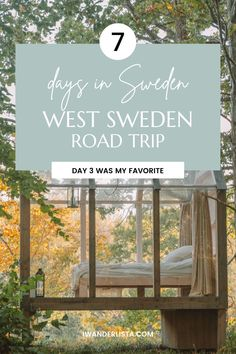 7 Day West Sweden Road Trip: The Best Itinerary Stuff To Do, Things To Do, Top Place, Bucket List Destinations, Sweden Travel, Travel Inspiration, Road Trip, Places To Visit, Holiday