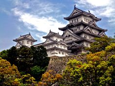 Himeji Castle is a hilltop Japanese castle complex located in Himeji, in Hyōgo Prefecture, Japan. Places Around The World, The Places Youll Go, Places To See, Around The Worlds, The Beautiful Country, Beautiful Places, Himeji Castle, Japanese Castle, Travel Channel