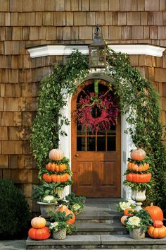 Festive Fall Wreath Ideas: Bittersweet Vine Fall Wreath